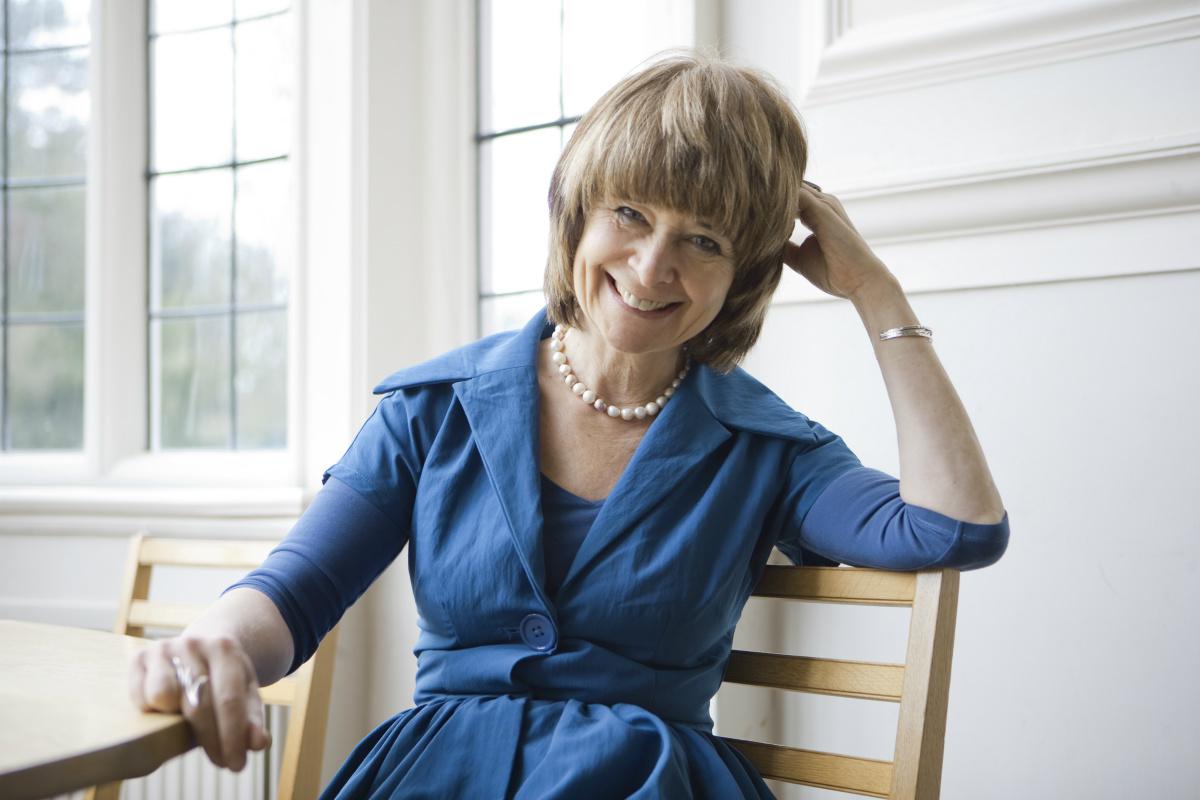 Author and alumna Sarah Dunant
