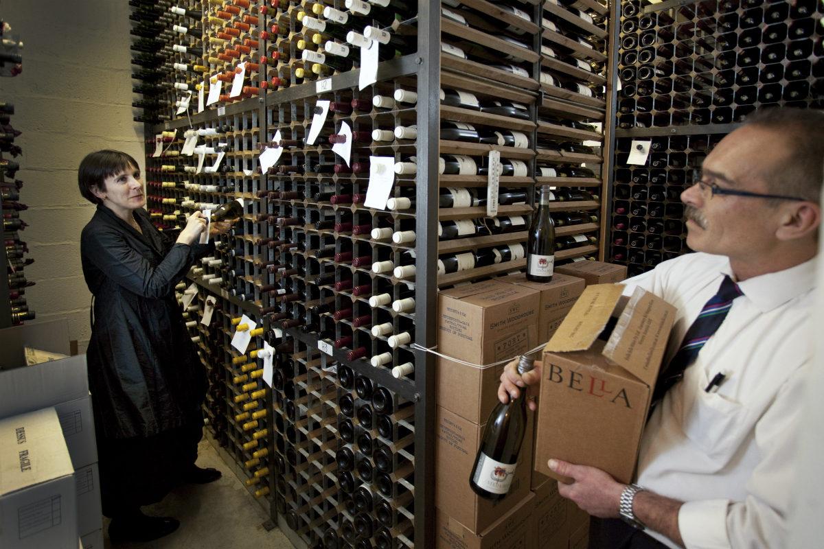 dinner and drinks reception wine list