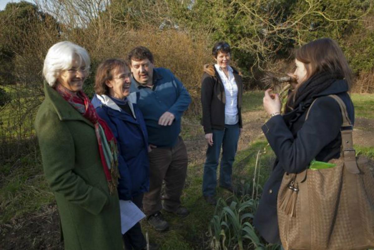 Members of the Garden Committee