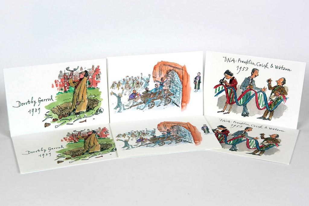 Newnham-College-Quentin-Blake-Cards