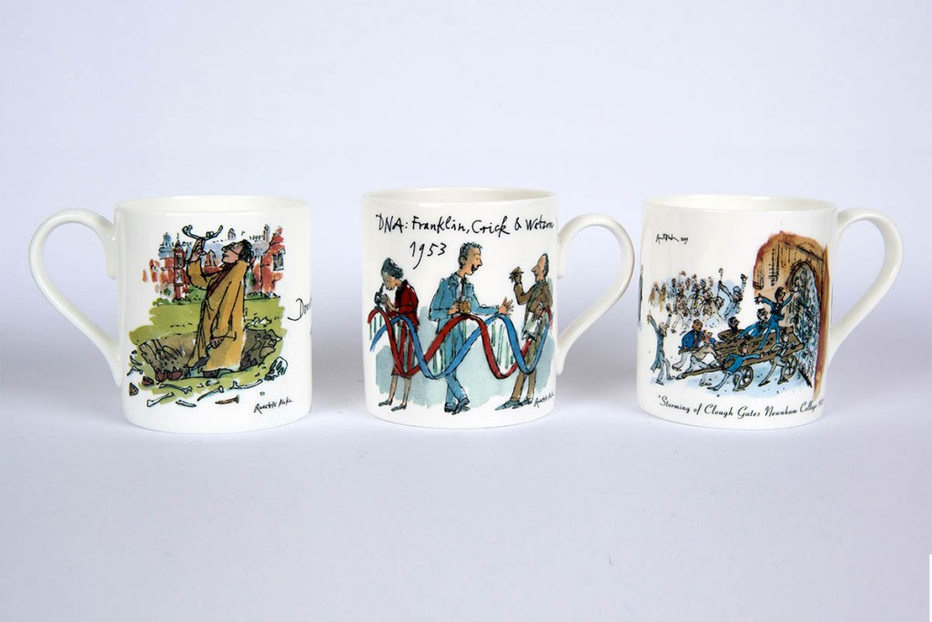 Newnham-College-Quentin-Blake-Mugs
