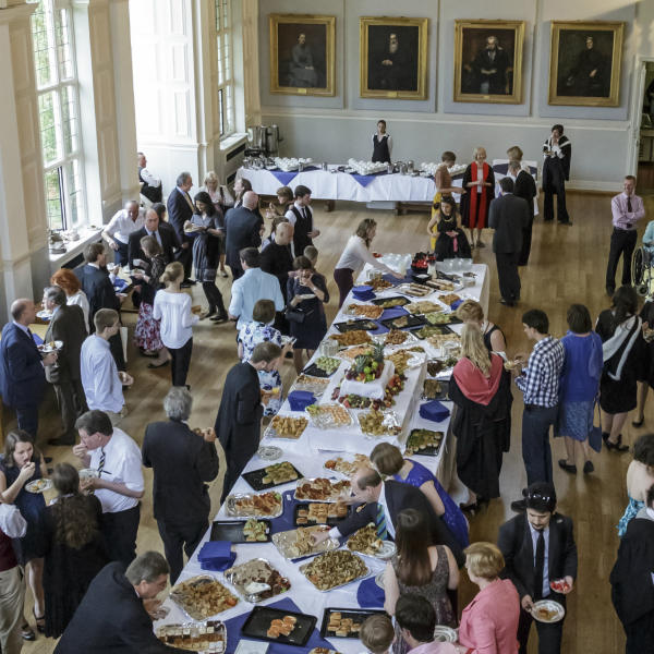 Buffet in Clough Hall