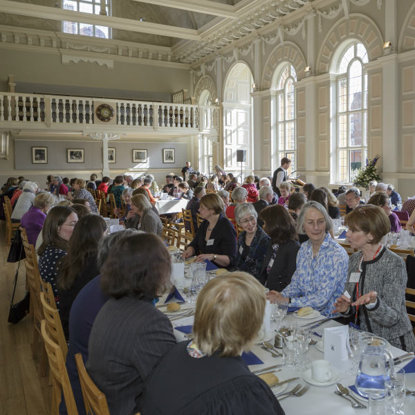 Lunch in Clough Hall
