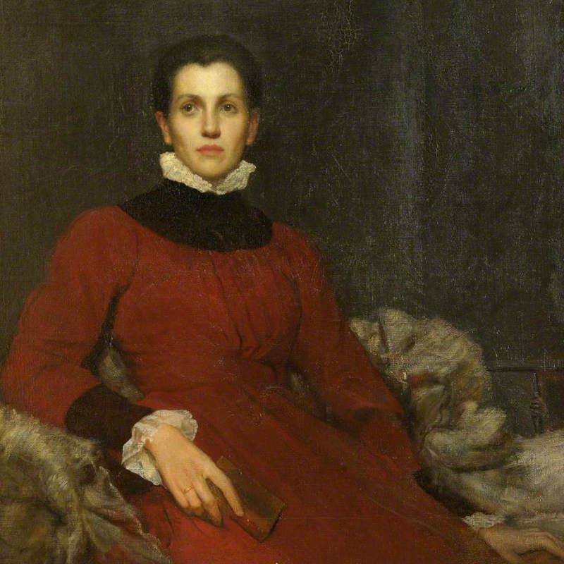 Portrait of Helen Gladstone