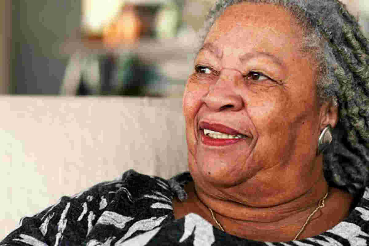 A photograph of Toni Morrison