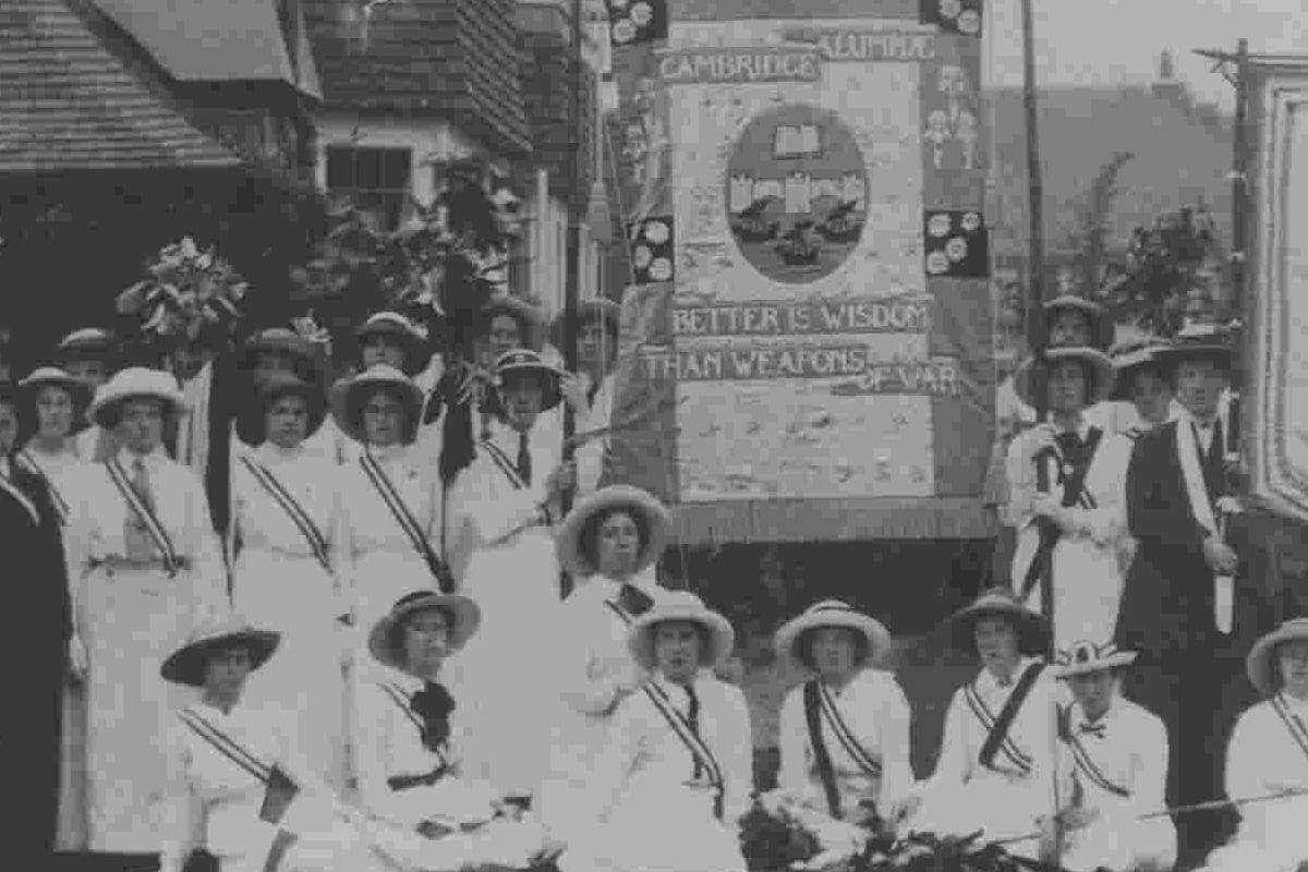 The Cambridge Alumnae Banner