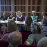 The panel at Older and Wiser
