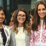 Umang Khandelwal with the Duchess of Cambridge