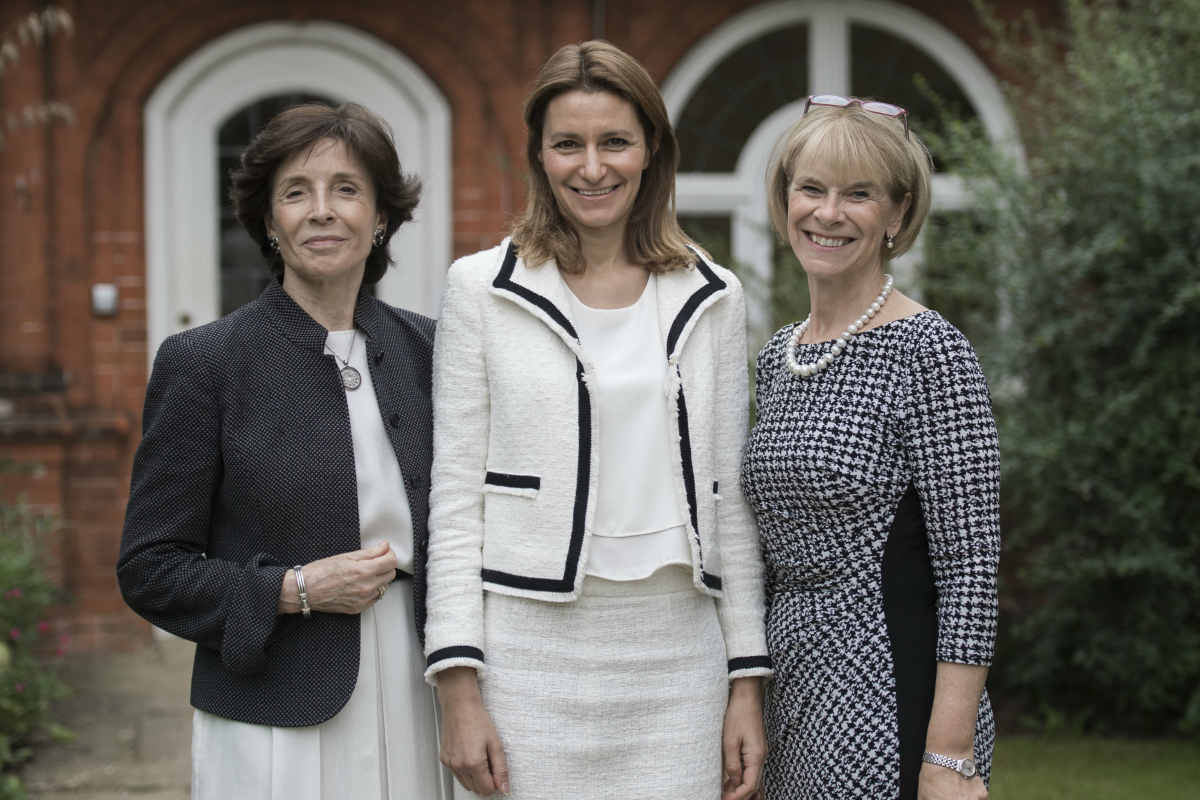Dame Mary Archer, Lucy Frazer MP and Penny Hubbard