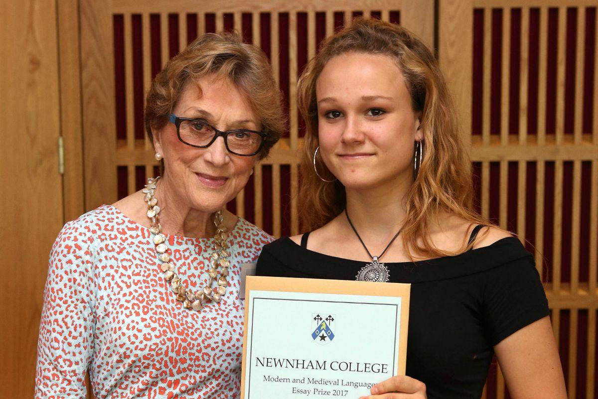 newnham college woolf essay competition