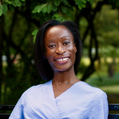 Photo of Dr Cécile Bushidi, Newby Trust Research Fellow