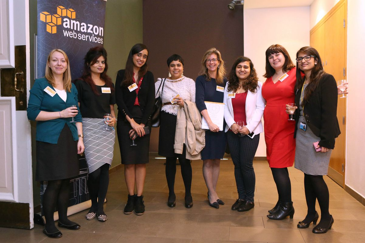 Graduate students at the Think Big Challenge