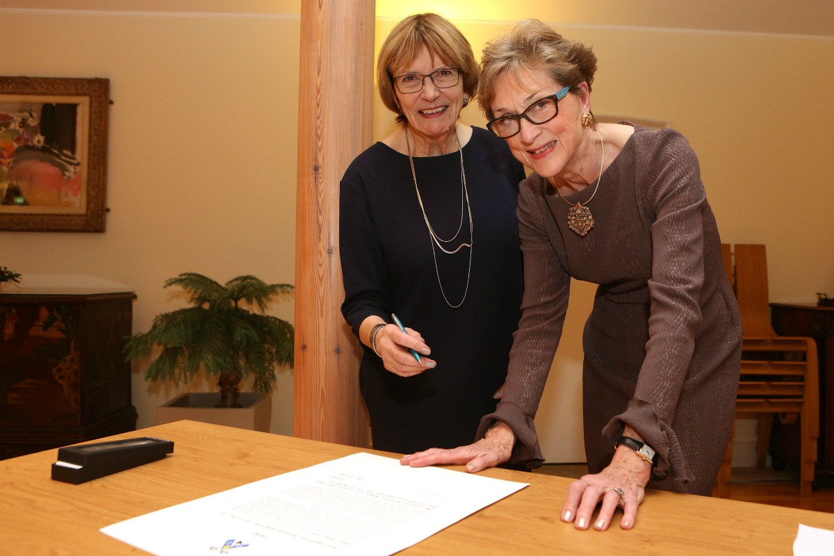 Joan Bakewell and Dame Carol Black