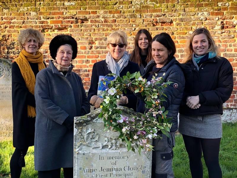Anne Jemima Clough's grave